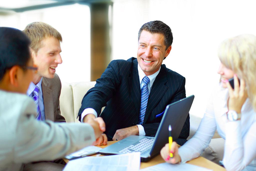 Meeting handshake, commercial property tax appeal, Assessment Advisors